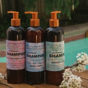 nutressant organic shampoo